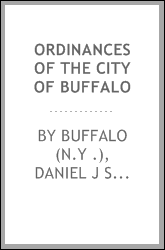 Ordinances of the City of Buffalo
