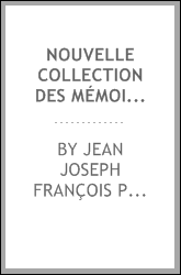 download nouvelle collection des mémoires pour servir a l'h