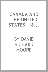Canada and the United States, 1815-1830