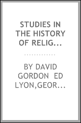 Studies in the history of religions