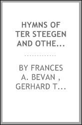 Hymns of Ter Steegen and Others: 2d Series