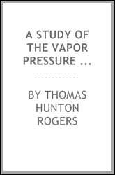download a study of the vapor pressure lowering of aqueous solut