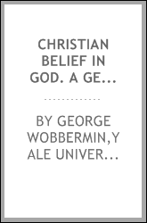 Christian belief in God. A German criticism of German materialistic philosophy