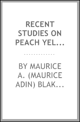 download recent studies on peach yellows and little peach book