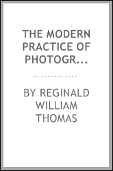 The Modern Practice of Photography