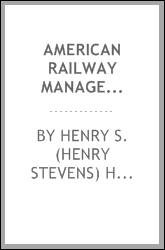 American railway management