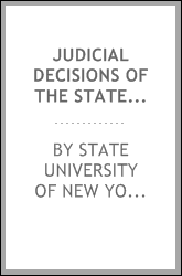 Judicial decisions of the State Superintendent of Common Schools, State Superintendent of Public Instruction, State Commissioner of Education, from 1822 to 1913