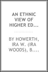 An ethnic view of higher education