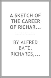 A sketch of the career of Richard F. Burton