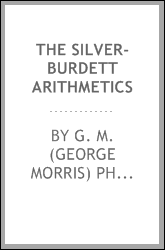 The Silver-Burdett arithmetics