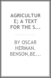 download agriculture; a text for the school and <b>the farm</b>
