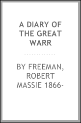 A diary of the great warr