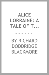 Alice Lorraine: A Tale of the South Downs