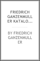 download friedrich ganzenmuller katalog 1909