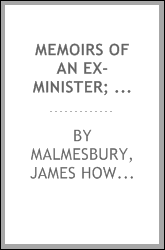 Memoirs of an ex-minister; an autobiography