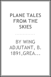 Plane tales from the skies