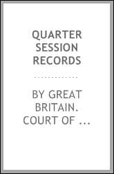 Quarter session records
