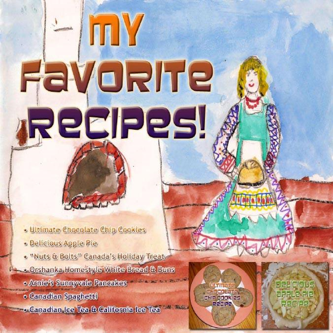 My Favorite Recipes - Arnold Vinette - Version 1 - Nov 2009 - English