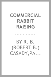 Commercial rabbit raising