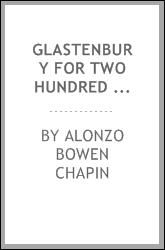 download glastenbury for two hundred years: a centennial discour