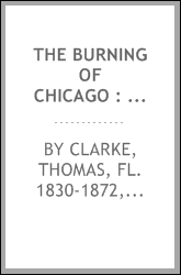 The burning of Chicago : a poem
