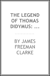 The Legend of Thomas Didymus: The Jewish Sceptic