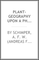 Plant-geography upon a physiological basis