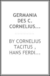 download germania des c. cornelius tacitus: mit lesarten sä