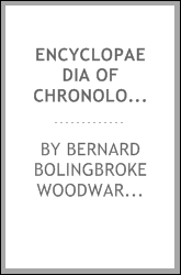 Encyclopaedia of chronology, historical and biographical