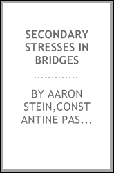 Secondary stresses in bridges