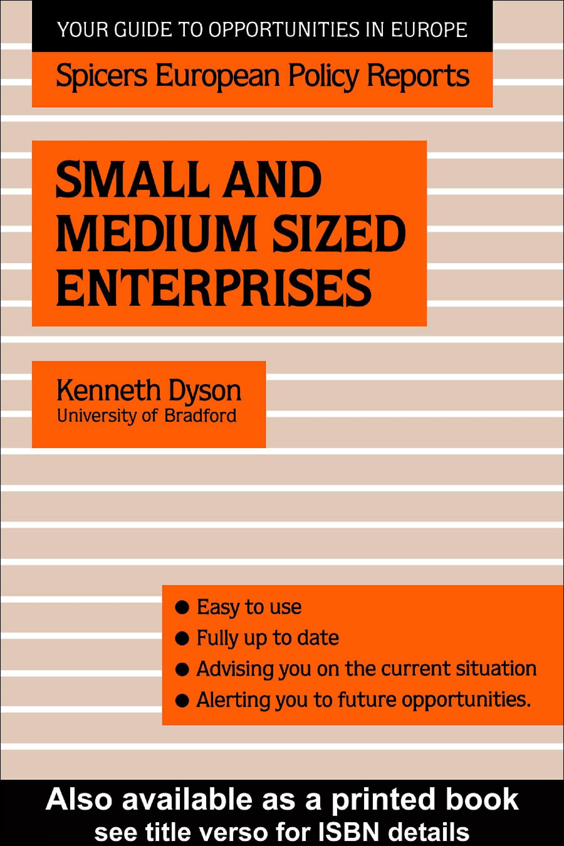 Small and Medium Sized Enterprises