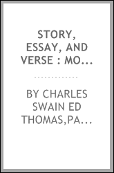 Story, essay, and verse : modern prose and poetry selected from the Atlantic monthly