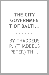 The city government of Baltimore;
