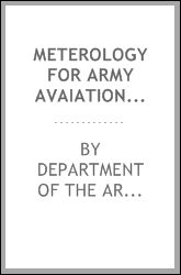 METEROLOGY FOR ARMY AVAIATION TM 1-300