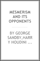 Mesmerism and its opponents