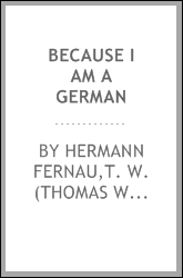 Because I am a German