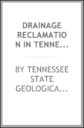 Drainage Reclamation in Tennessee: First Papers