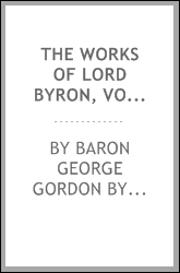The works of Lord Byron, Volume 13