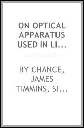 On optical apparatus used in lighthouses