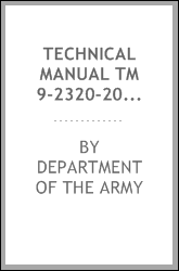 Technical Manual TM 9-2320-208-34P M38A1 Repair Parts and Special Tool Lists