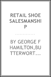 Retail shoe salesmanship