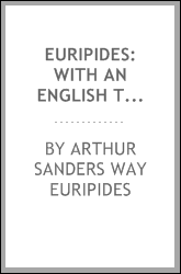 Euripides: With an English Translation
