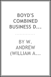 Boyd's combined business directory for 1875-6 [microform] : containing an alphabetical list of all the merchants, manufacturers, tradesmen, &c. of Montreal, Toronto, Hamilton, Ottawa, London & Kingston arranged under their proper headings, also, a co