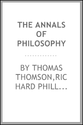 The Annals of philosophy