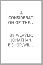 A consideration of the acts of the General Conference of the United Brethren in Christ of 1885 : The work of the Commission