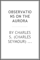 Observations on the aurora