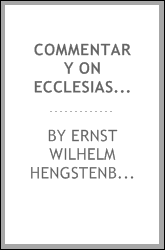 Commentary on Ecclesiastes: With Other Treatises