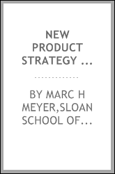 New product strategy in small high technology firms : a pilot study
