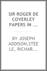 Sir Roger de Coverley papers in the Spectator