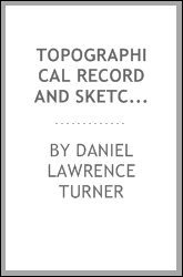 Topographical record and sketch book for use with transit and stadia